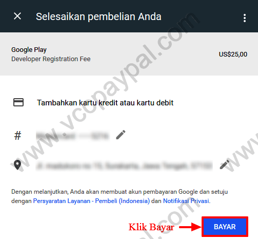 Tutorial Memasukan VCC Google Developer