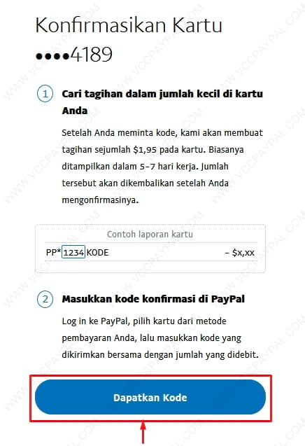 Tutorial Verifikasi Akun Paypal Business