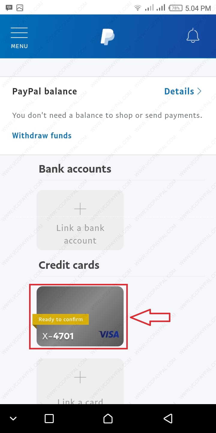 Tutorial Verifikasi Akun Paypal Premier Android Version